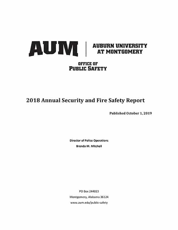 AUM-Annual-Security-and-Fire-Safety-Report
