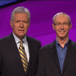 Darren Harris Fain with Alex Trebek