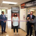 Ribbon cutting for new Veteran & Military Resource Center