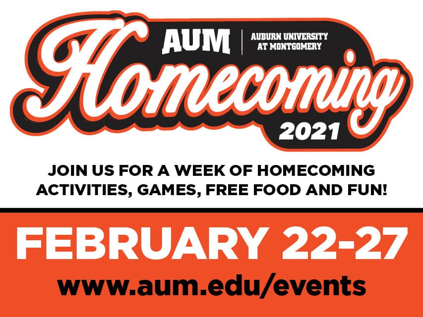 2021 AUM Homecoming Logo