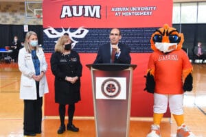 AUM announces distribution of COVID-19 vaccines to community members