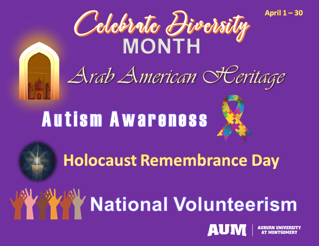 Diversity Month graphic