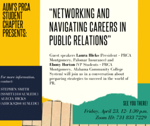 PRCA Event Flyer