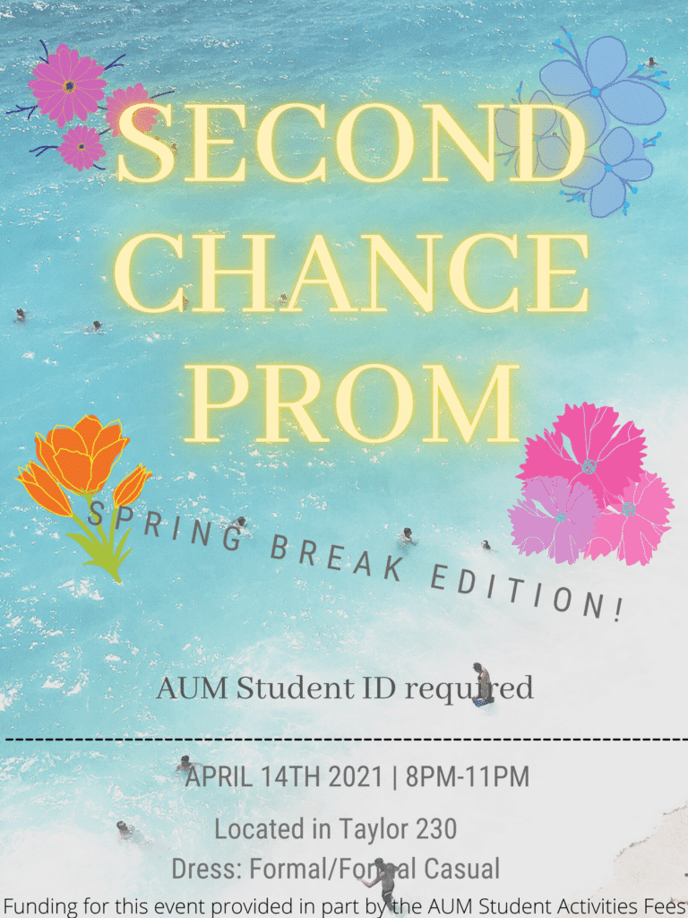 Second Chance Prom Flyer