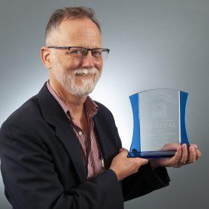 Paul Hard with ALGBTICAL Award