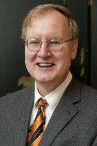Retired English Professor Bob Evans