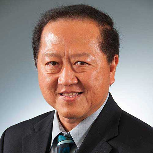 Dr. David Ang, professor and department head of Information Systems