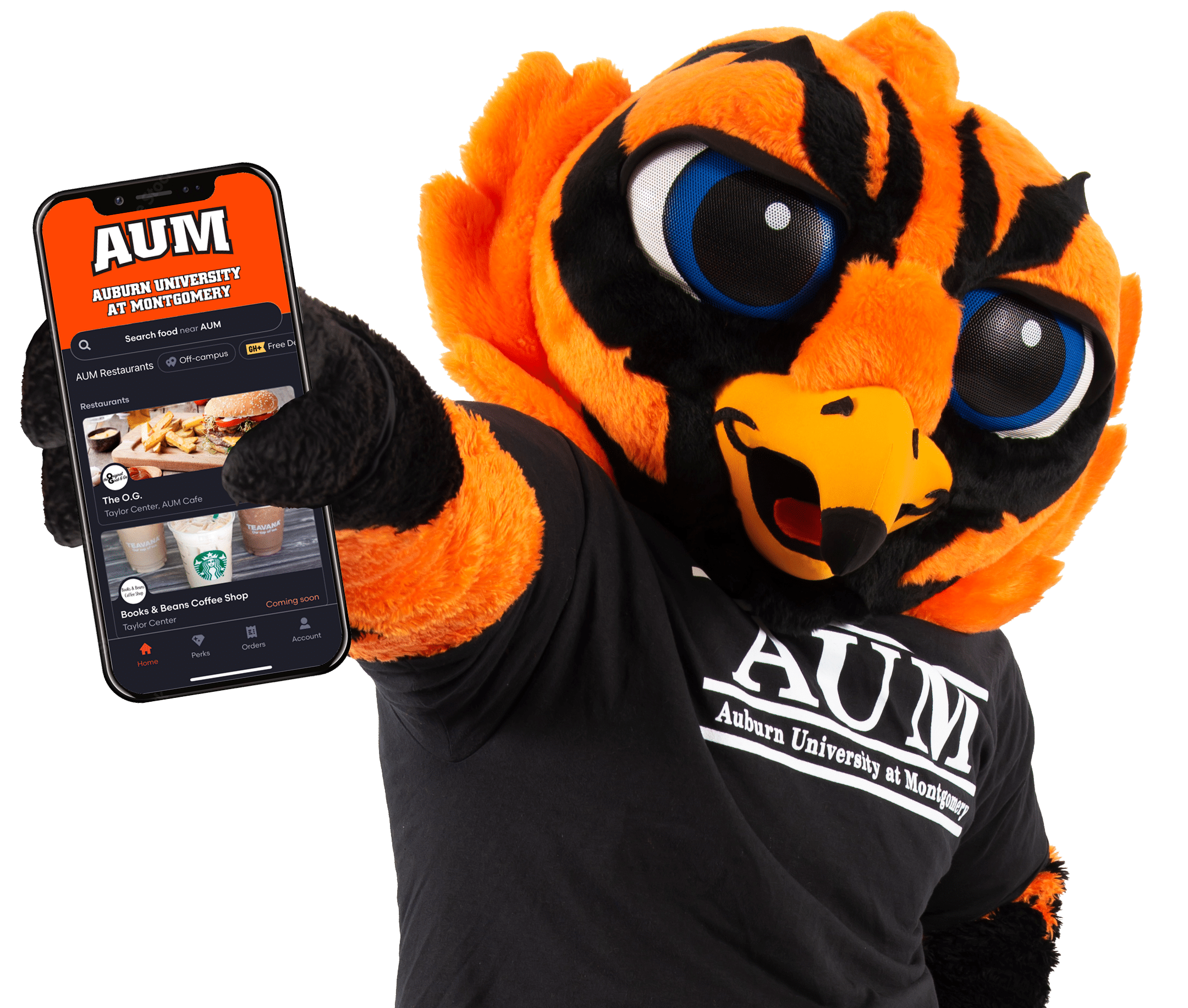 warhawk with phone with AUM app