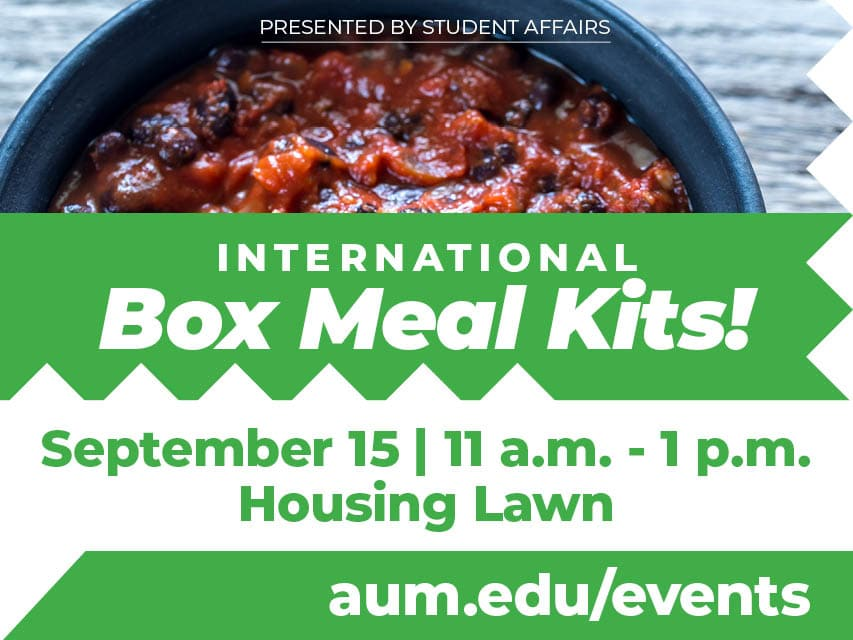 International Box Meal event graphic
