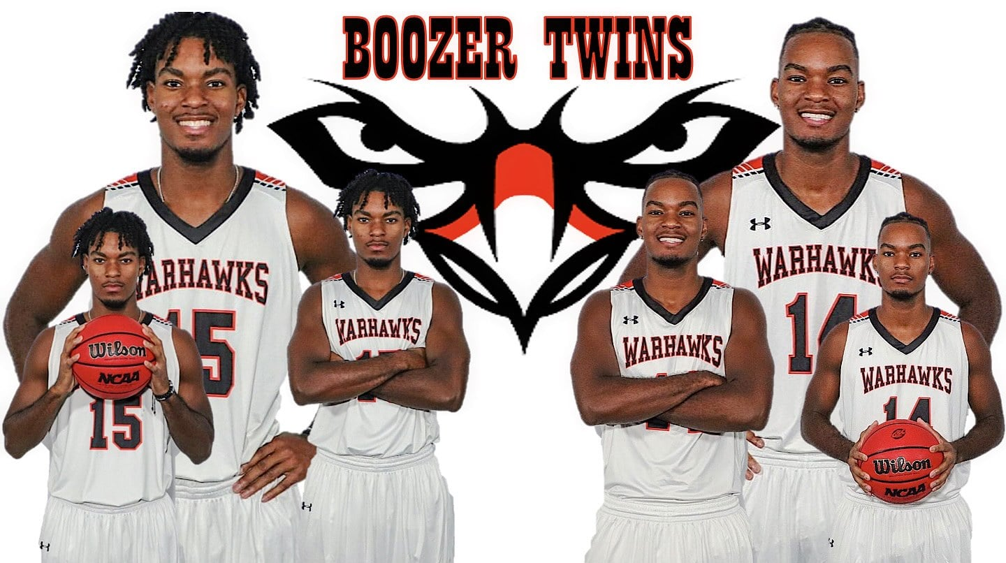 Identical twin basketball players focus on first year at AUM