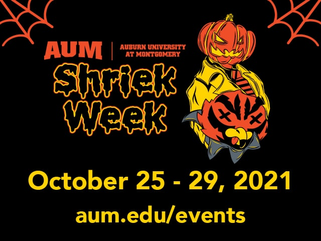 Shriek Week 2021 Event Graphic